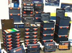 L-Boxx Storage Solutions Van Storage, Trailer Storage, Utility Trailer, Cargo Trailers, Tool Storage, Bosch Tools, Tool Shop, Power Tools, Storage Solutions