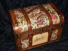 Tattoo purse DIY Tattoo Supply Case SAILOR JERRY....could use it as a makeup case