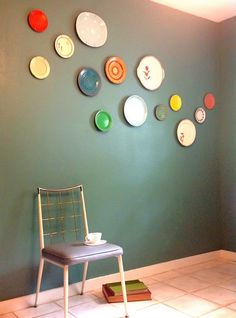 make your own plate wall art