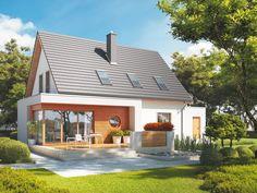 Swój wyjątkowy charakter budynek zawdzięcza atrakcyjnej bryle, wzbogaconej o ciekawe rozwiązania architektoniczne.