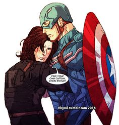 """vhyrel: """" Commission. Client wanted a possessive Bucky. """""""