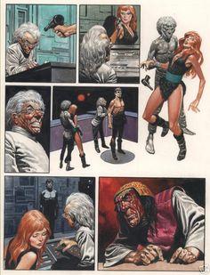 Sci Fi Horror, Comic Movies, Fantasy Illustration, Comic Page, Pulp Art, Fantastic Art, Sci Fi Art, Comic Artist, Science Fiction