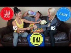 CLEAN EATING vs IIFYM vs CLEAN MACROS