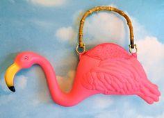 Pink Flamingo Purse!