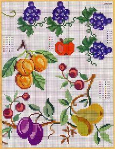 Σχέδια με φρούτα