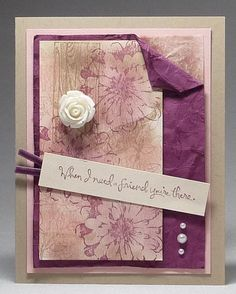 www,dreamingaboutrubberstamps.com - Choose Happiness Vintage Card - A stamp set like Choose Happiness is the perfect choice for making vintage cards especially when paired with the Artisan Embellishment Sit from Stampin' Up!