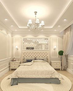 Creative Ceiling Designs For Your Master Bedroom - ceiling design House Ceiling Design, Ceiling Design Living Room, Bedroom False Ceiling Design, Luxury Bedroom Design, Home Ceiling, Home Room Design, Master Bedroom Design, Home Decor Bedroom, Interior Design