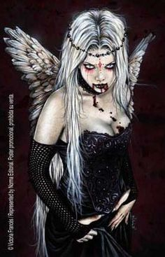 Victori Frances; i guess I'm just going to hVe a million tattoos of white haired vampires
