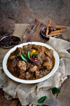 Chettinad Chicken Curry, a South Indian dish