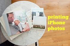 Cool ways to print your iPhone photos: magnets, cards, minibooks, albums...