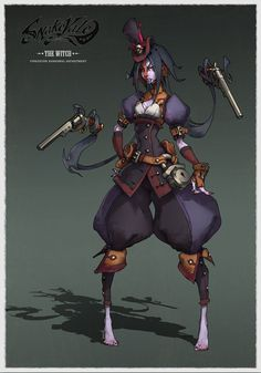 SnakeVale Witch2 by IxtianArt on DeviantArt