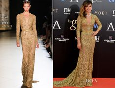 Goya Toledo In Elie Saab Couture – 2013 Goya Cinema Awards