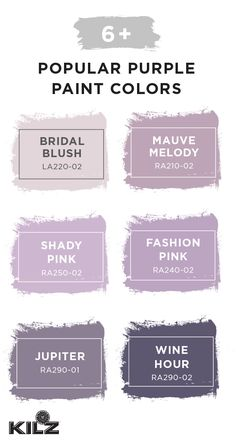 I like the mauve melody color with dark wood furniture in our bedroom - Modern Purple Paint Colors, Bedroom Paint Colors, Interior Paint Colors, Paint Colors For Home, Wall Colors, House Colors, Interior Design, Shades Of Purple Color, Walmart Paint Colors