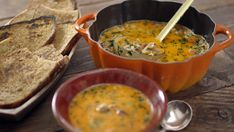 James Martin chicken and chorizo soup recipe on James Martin: Home Comforts