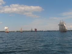 Playfair, St. Lawrence II, El Galeon, Draken Harald Harfagre and Pride of Baltimore II