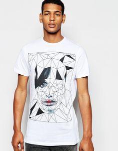 Imagen 1 de Camiseta con estampado de cara de Antony Morato