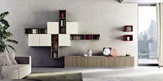 EVO by Lyon's Modern Kitchen Lines Floating Shelves, Tv Unit, Modern Kitchen, Furniture, Shelves, Kitchen Furniture, Shelving Unit, Modern, Home Decor