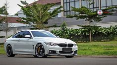 #BMW #F32 #435i #Coupe #xDrive #MPackage #AlpineWhite #MPerformance #Parts #HREWheels #Provocative #Eyes #Sexy #Hot #Badass #Live #Life #Love #Follow #Your #Heart #BMWLife
