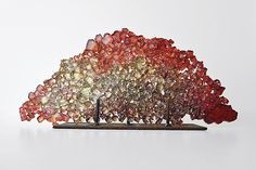 Dreamscape 51 by Mira Woodworth: Art Glass Sculpture available at www.artfulhome.com