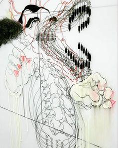 Detail from Work002 #werewolf #dentistry #infographic #diagrams #boxes #art #drawing #contemporaryart #pencilwork #mylar #artonmylar  #artistsoninstagram #filipinoart #pinoyart #pinoyartist #filipinoartist #pinoyartistnyc #graphite #mixedmedia #spine #vertebrae #linework #lineart #diagrams #myart #myartwork #quizon #chico #spine #lowbrowart #highart #cartoon