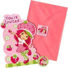 strawberry shortcake images clipart | ... strawberry shortcake invitations these glittering strawberry shortcake