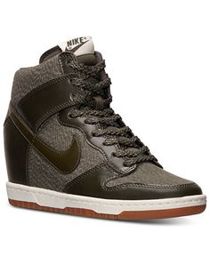 Nike Women's Dunk Sky Hi Essential Casual Sneakers from Finish Line - Kids Finish Line Athletic Shoes - Macy's