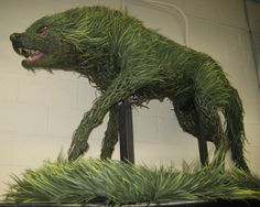 """The grass wolf creature in the middle is from """"Lady in the Water"""""""