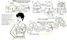 bullet bra pattern