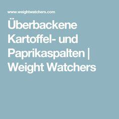 Überbackene Kartoffel- und Paprikaspalten | Weight Watchers