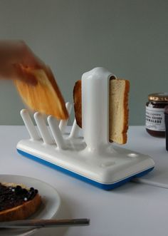Glide Toaster. i am amazed. If i had this i think id eat toast all the time just to use it.