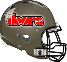 The Doors Helmet from a Fantasy Football League