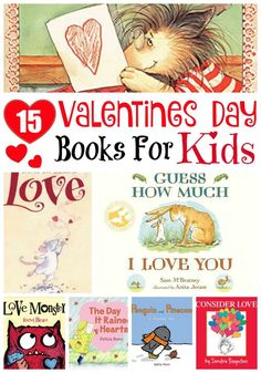 Valentines Day Books for Kids #valentines #valentinesday #valentinesbooks