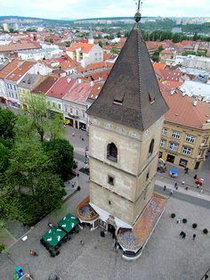 Urbanova veža (St Urban Tower), Košice, Slovakia Continental Europe, Heart Of Europe, Big Country, Central Europe, Bratislava, Slovenia, Czech Republic, Hungary, Poland