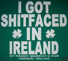 irish st. paddys day green drunk t shirt #ireland