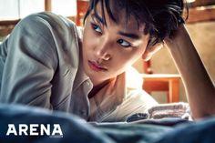 EXO's Kai oozes sexiness on the cover of 'Arena Homme+' Chanyeol, Kai Exo, Kyungsoo, Spirit Fanfic, Rapper, Kim Jong Dae, Do Kyung Soo, Kim Jongin, Tumblr