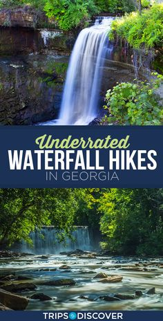 11 Underrated Waterfall Hikes in Georgia That Will Take Your Breath Away Hiking In Georgia, Savannah Georgia, Toccoa Georgia, Ellijay Georgia, Valdosta Georgia, Dahlonega Georgia, Helen Georgia, Georgia State Parks, The Journey