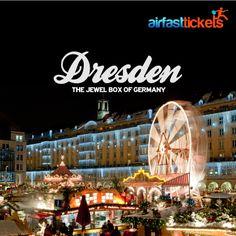 Vor allem Deutschland ist wunderschön zur Weihnachtszeit. Besucht #Dresden mit dem ältesten Weihnachtsmarkt Deutschlands.  #Weihnachten #Jahresabschluss #Urlaub #Deutschland #Airfasttickets