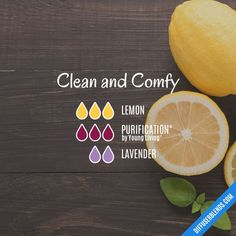 Clean and Comfy - Essential Oil Diffuser Blend