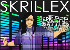 Epic Rap Battles of History Skrillex