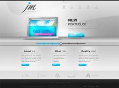 portfolio website designs for inspiration -designbump Website Layout, Web Layout, Web Design, Book Design, Flyer Design, Portfolio Layout, Portfolio Website Design, 4 Elements, Software