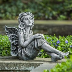 Buy Elinda Fairy Statue by Campania International with free delivery for sale online from thegardengates.com