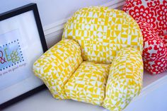 Today I finished a few puffy doll chairs that will ship tomorrow. They're great for doll relaxing, American Girls or even just for your own decor. Later this week I'll try a few new fabrics. Ag Dolls, Girl Dolls, Our Generation Doll Clothes, Patterned Chair, Extreme Makeover, Doll Furniture, Fabric Dolls, Shoe Box, Bean Bag Chair