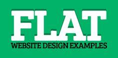 36 Flat Website Design Examples For Inspiration