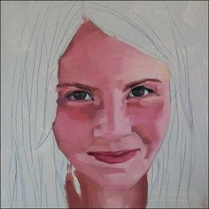 Beautiful tutorial on how to paint a portrait from a photo. Get supplies at Flower Factory. www.flowerfactory.com