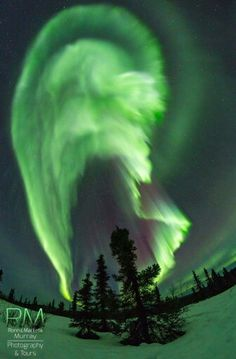 Aurora over Fairbanks, Alaska
