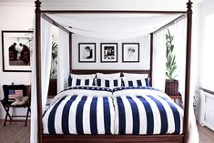 Southampton stripe bäddset - Newport Premium Outlets, South Hampton, Luxury Bedding, Newport, New England, Comforters, Master Bedroom, Blanket, House