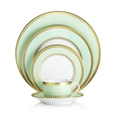 Handmade in France, this classy and beautiful Art Deco inspired pattern is a gorgeous addition to your dining room.