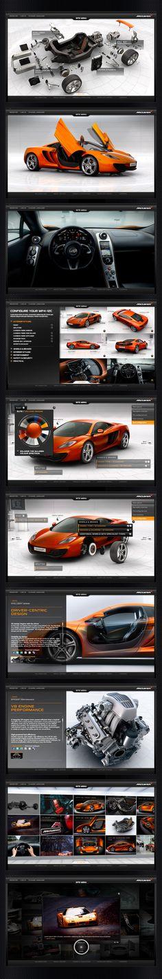 Configurators are becoming quite popular with car brands. McLaren Automotive has one of the best online configurators in the industry!!