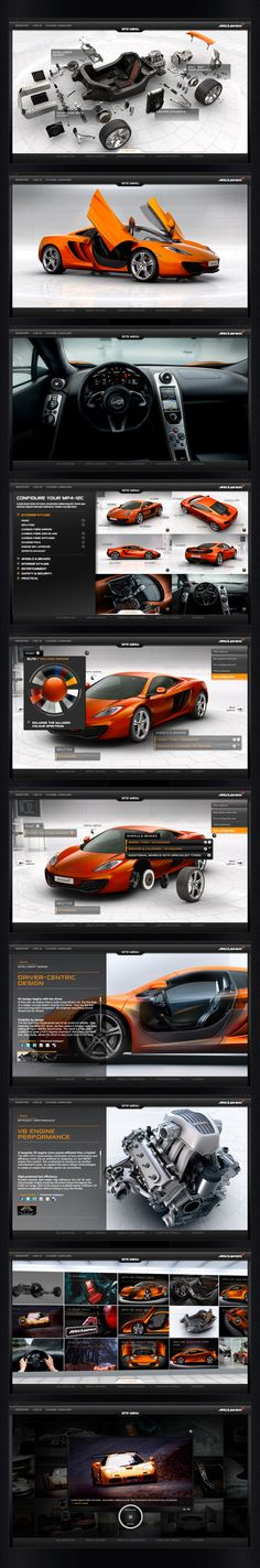 Configurators are becoming quite popular with car brands. McLaren Automotive has one of the best online configurators in the industry!!