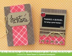 the Lawn Fawn blog: Back to School Set by Lynette + Online Card Classes…
